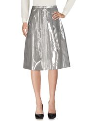 Arthur Arbesser - 3/4 Length Skirt - Lyst