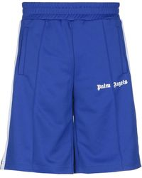 Palm Angels Bermudashorts - Blau