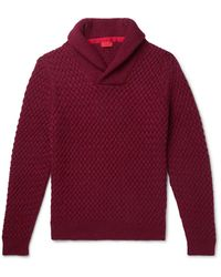 Isaia Pullover - Rouge