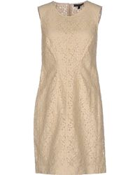 Belstaff Short Dress - Natural