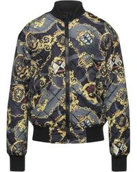 Versace Jeans Couture Synthetic Down Jacket - Grey