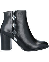 Mellow Yellow Ankle Boots - Black