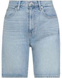 SLVRLAKE Denim Jeansbermudashorts - Blau