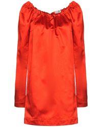 Isa Arfen Kurzes Kleid - Rot