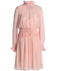 Mikael Aghal Short Dress - Pink
