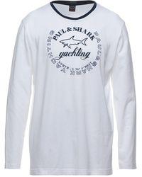 Paul & Shark Camiseta - Blanco