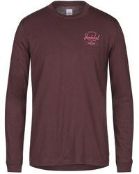 Herschel Supply Co. T-shirt - Purple