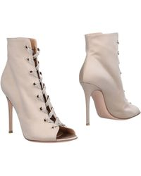 Gianvito Rossi Ankle Boots - Natural