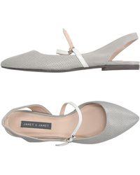 Janet & Janet - Ballet Flats - Lyst