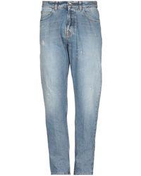 Eleventy Denim Pants - Blue
