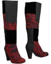 Desigual Boots - Red