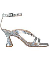 Giampaolo Viozzi Sandals - Metallic
