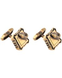 Roberto Cavalli Cufflinks And Tie Clips - Metallic