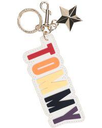 Tommy Hilfiger Key Ring - White