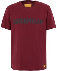 Caterpillar T-shirt - Red
