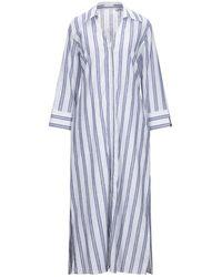 Camicettasnob Long Dress - Blue