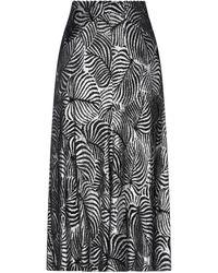 Paco Rabanne 3/4 Length Skirt - Black