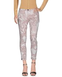 Bruno Manetti - Casual Pants - Lyst