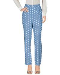 Libertine-Libertine Casual Trouser - Blue