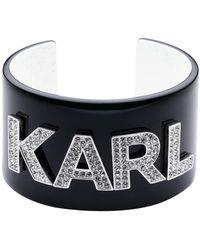 Karl Lagerfeld Bracelet - Black