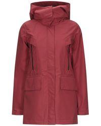 Duvetica Overcoat - Red