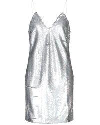 IRO Short Dress - Metallic