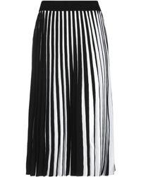 Derek Lam 3/4 Length Skirt - Black