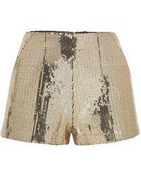 Alex Perry Shorts & Bermuda Shorts - Metallic