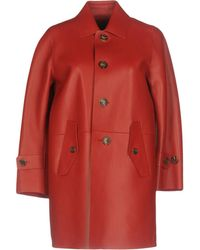 DSquared² Overcoat - Red