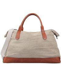 Eleventy Handbag - Natural