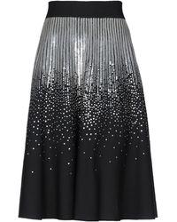 Givenchy Falda a media pierna - Negro