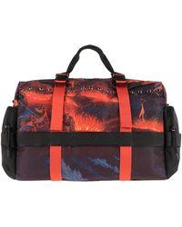 Marcelo Burlon Duffel Bags - Red