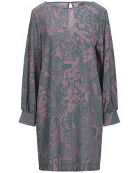 MÊME ROAD Short Dress - Grey