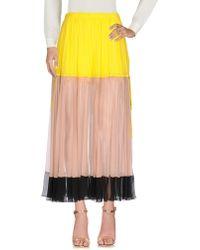 N°21 Long Skirt - Yellow