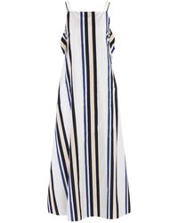 Sportmax Code Vestido largo - Blanco