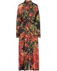 W Les Femmes By Babylon Long Dress - Black