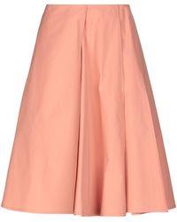 Jil Sander Knee Length Skirt - Pink
