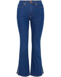 Alice + Olivia Pantalon en jean - Bleu