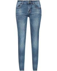 No Secrets Denim Trousers - Blue