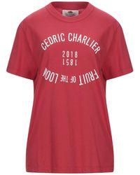 Cedric Charlier T-shirt - Red