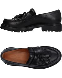 Car Shoe Loafer - Black
