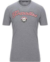 Dolce & Gabbana T-shirt - Gris