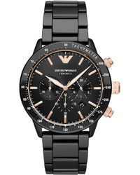 Emporio Armani Watches - Black