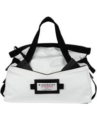Givenchy Travel Duffel Bags - White