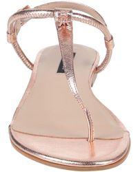 Patrizia Pepe Toe Strap Sandals - Pink