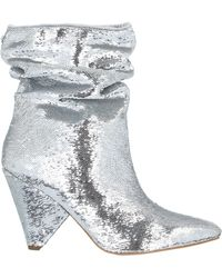 Guess Ankle Boots - Metallic