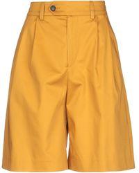 Mauro Grifoni Bermuda Shorts - Yellow