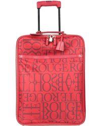 Valentino Wheeled luggage - Red