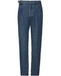 Lardini Denim Trousers - Blue