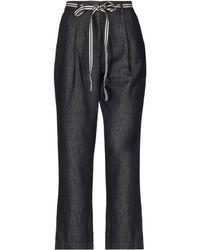 Marina Yachting - Denim Trousers - Lyst